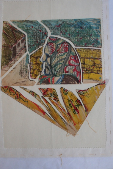 48x34 cm ink, mixed paper
