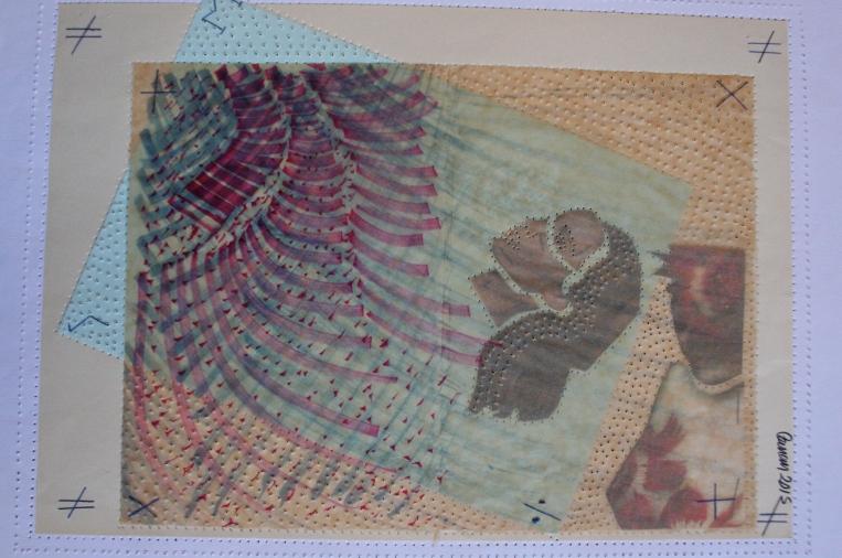 50x35 cm ink, mixed paper